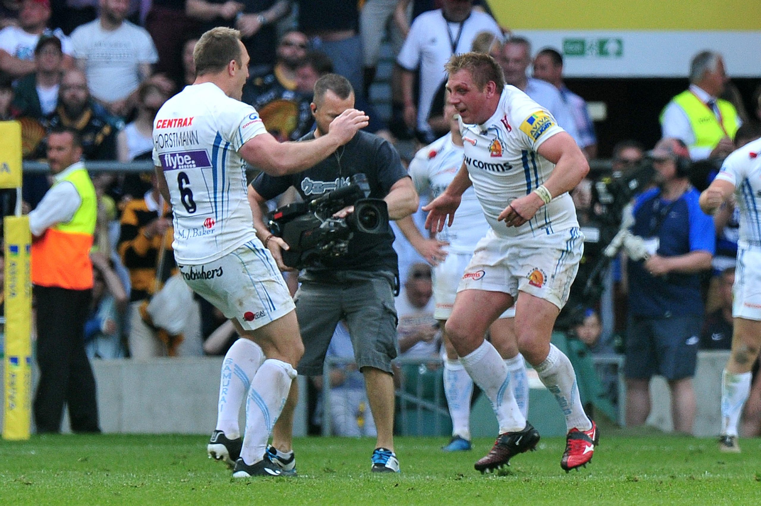 Carl Rimmer and Kai Horstmann Exeter Chiefs