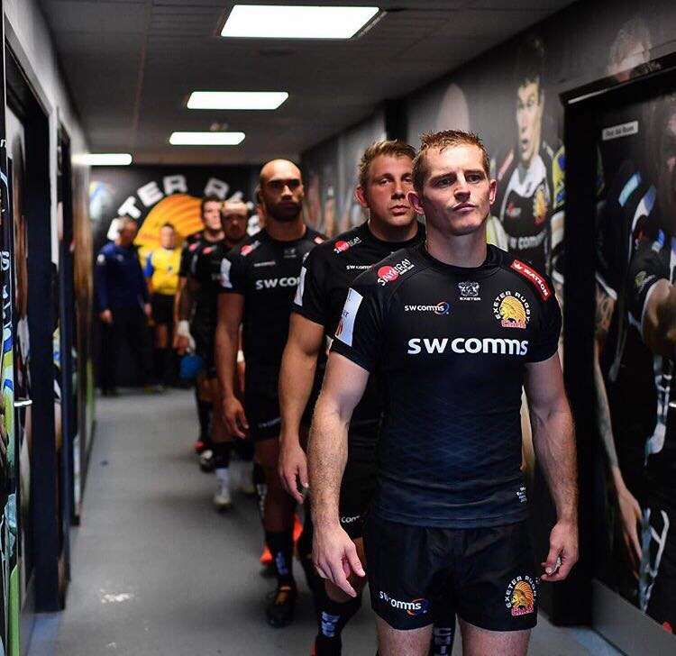 Exeter Chiefs Players coming Carl Rimmer Gareth Steenson